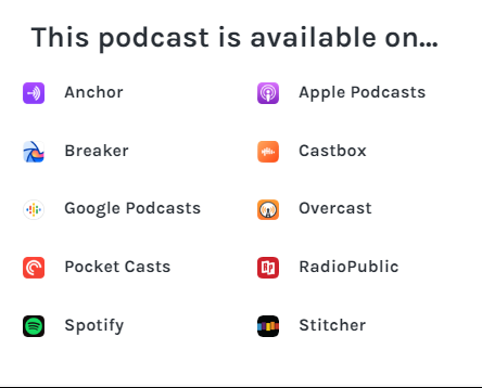 Podcast Available
