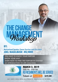 The Change Mastery Workshop Flyer