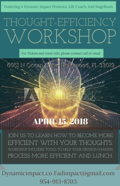 Thought Efficiency Workshop April 15, 2018