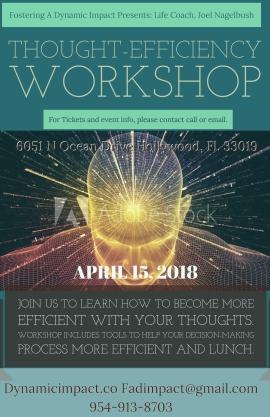 Thought Efficiency Workshop April 15, 2018