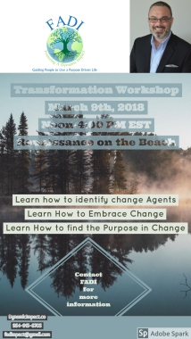 Transformation Workshop March 2018